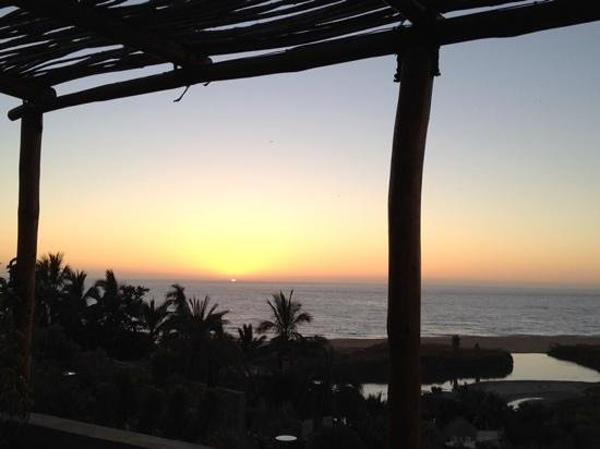 Los Colibris Casitas: Another beautiful sunset...