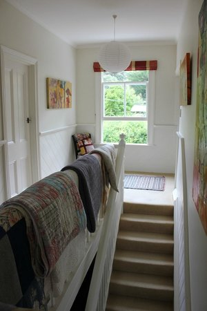 Coombe Farm Bed and Breakfast : upstairs