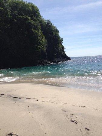 White Sand Beach : Suasana Pantai