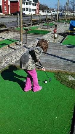 Francis Scott Key Family Resort: Mini Golf Course