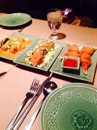 Restaurant Thailande: Entradas