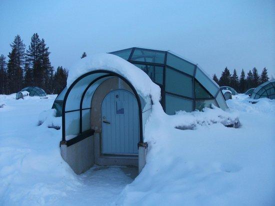Kakslauttanen Arctic Resort : Igloo que ficamos.