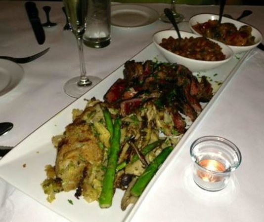 ribeye with brussel sprout gratin picture of z cucina di