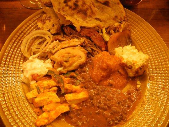 Peshawri: a selection of mains ... including goat