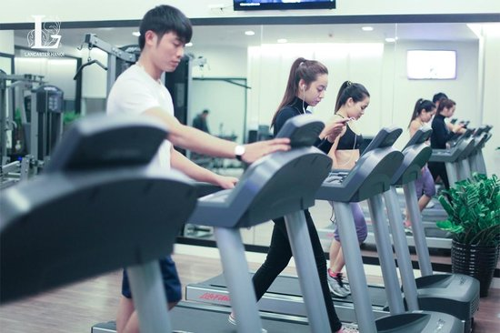 Lancaster Hanoi: Gym on Level 25