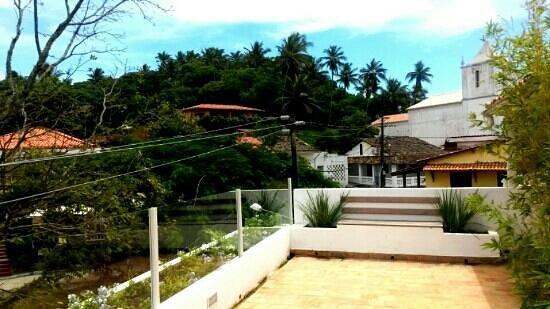 Solar Das Artes Pousada Boutique - Morro: terraço do apto Vênus de Milo