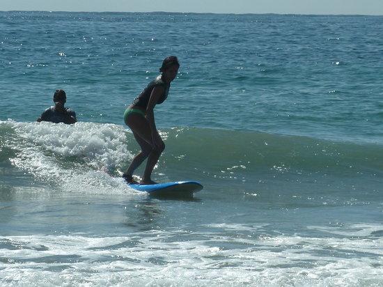 San Agustinillo, Mexico: classe de surf