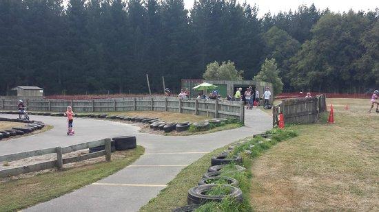 Big Rock Fun Park: Segway tracks!