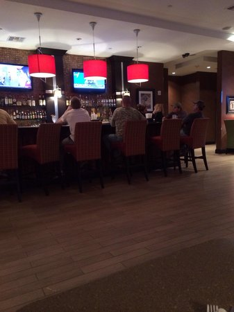 Holiday Inn Houston East-Channelview: Downstairs bar
