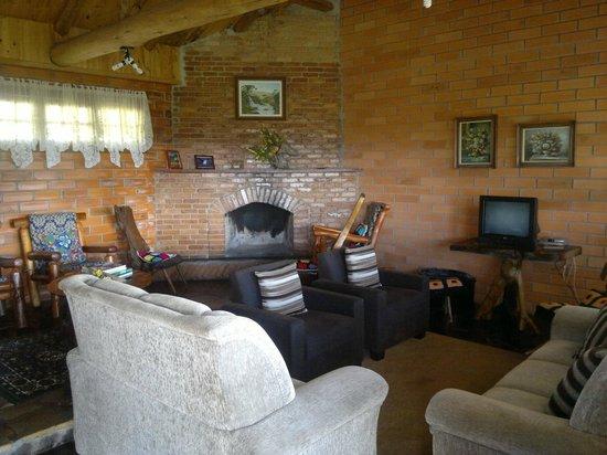 Fazenda Santa Rita Turismo Rural: hogar en sala de lectura y esparcimiento