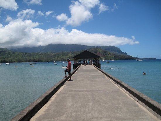 The Westin Princeville Ocean Resort Villas: Hanalei pier