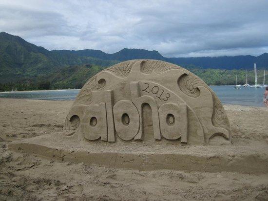 Westin Princeville Ocean Resort Villas: aloha
