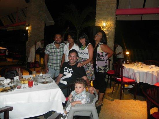 Royal Decameron Barú: con Cindy Paola :)