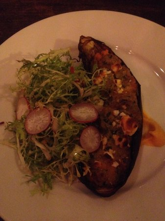 The Priory Bar & Kitchen: Stuffed eggplant. 10/10