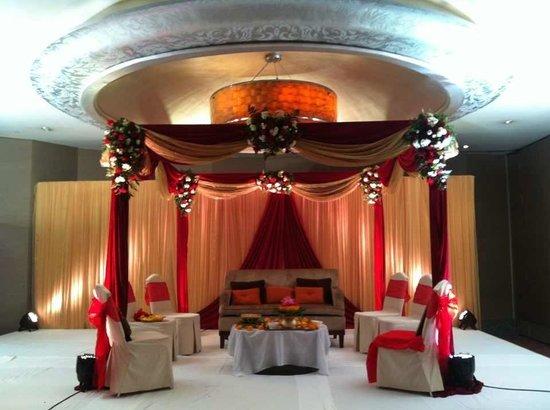 Pullman Bangkok Grande Sukhumvit: Indian wedding at Junior Ballroom