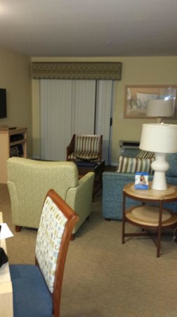 WorldMark San Diego - Mission Valley: living room