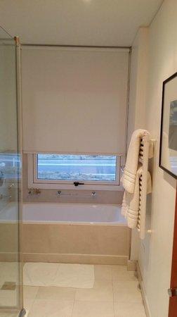 Territorio Hotel: bañera con vista al mar excelente!