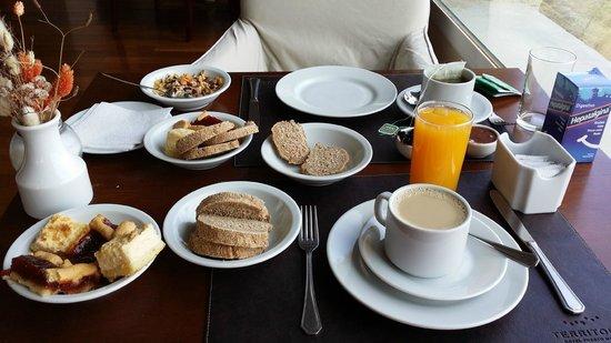 Territorio Hotel: desayuno sublime