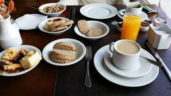 Territorio Hotel: desayuno excelente