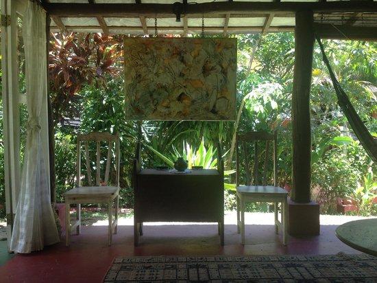 Pousada Porto de Cima: Indoor/Outdoor Lobby