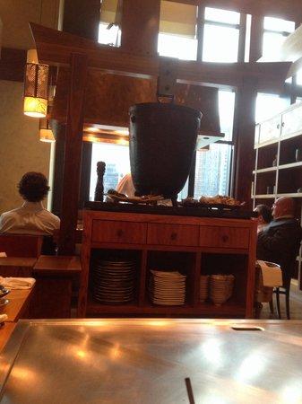 Koko Japanese Restaurant: Hot plate