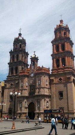 Cathedral of San Luis Potosí : vista iglesia