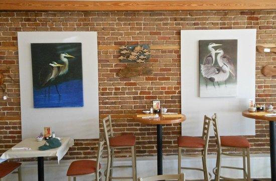 Apalachicola Riverwalk Cafe : View