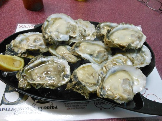 Bayside Burgers: Apalachicola oysters, the best!!