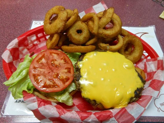 Bayside Burgers: burger & fries