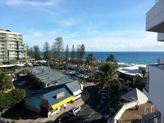 Sandcastles Mooloolaba: View from balcony of room 402