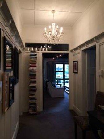 Waiorau Homestead: entrance hallway