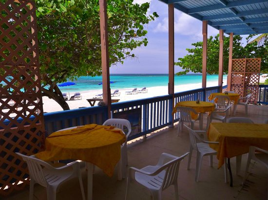 Tropical Sunset Restaurant & Bar: View from the patio