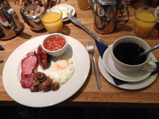 Alhambra Hotel : English Breakfast en Alhambra Londres