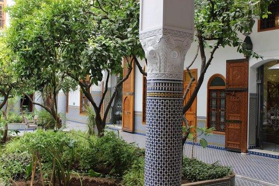 Palais Amani: Garden
