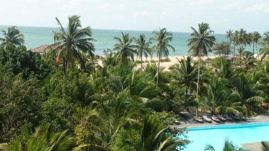 Upper level view of Lagoon Paradise Beach Resort, Tangalle