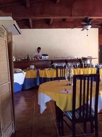 Villa Marinera: salle a diner de la marinera avec masseo