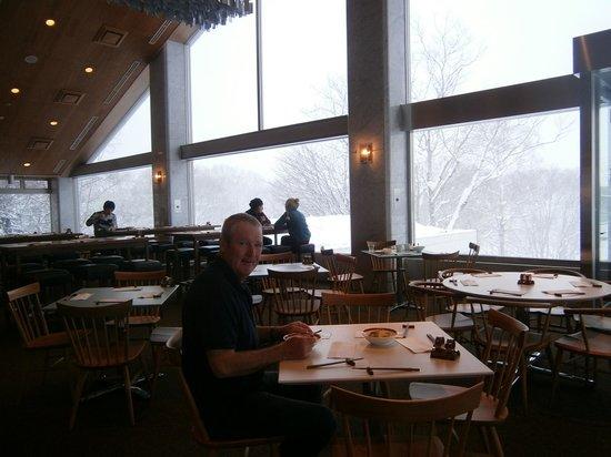 The Green Leaf Niseko Village : the restaurant