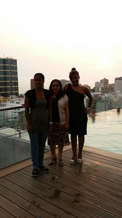 Hilton Lima Miraflores : amazing view