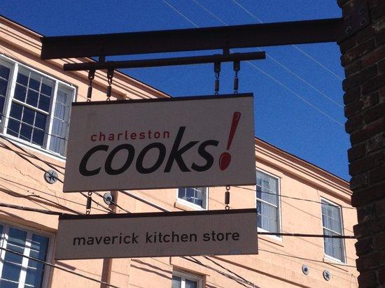 Charleston Cooks! Maverick Kitchen Store: Charleston Cooks on East Bay Street