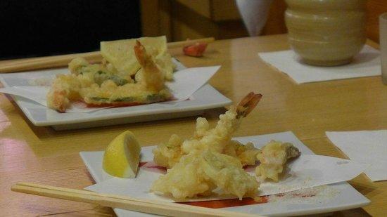 Hatsuhana Restaurant: 天ぷら