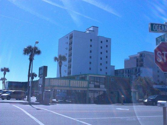 Sea Horn Motel: Sea Horn from Ocean Blvd