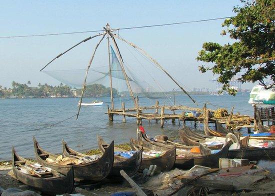 Brunton Boatyard : Chinese Fishing Nets