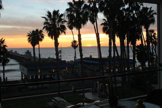 Casa Tropicana : View from the room balcony