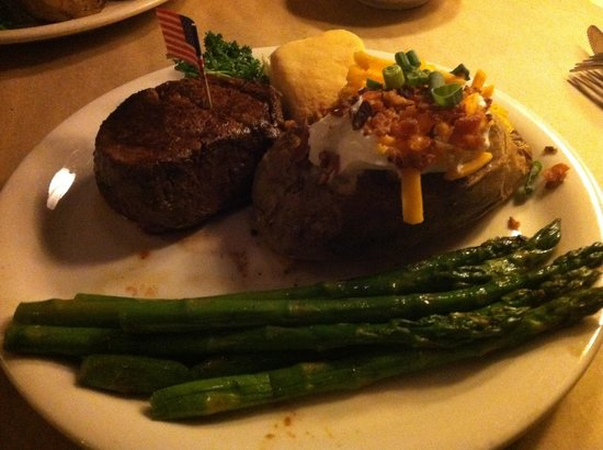 Ted's Montana Grill: Ted's Bison Fillet