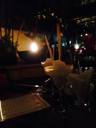 HVN at Casa Colombo: Lychee Frozen Margarita !