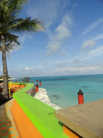 Compass Point Beach Resort : View from Pool