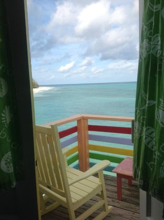Compass Point Beach Resort : From Bed