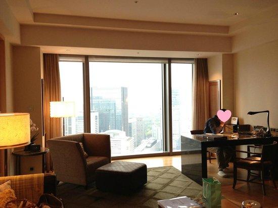 Mandarin Oriental, Tokyo : panorama!