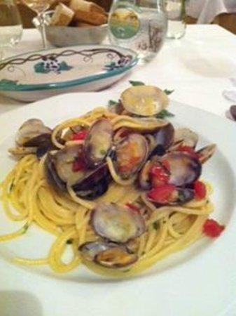 Da Vincenzo: spaghetti vongole