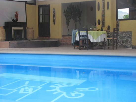 Hotel Teocalli : picina